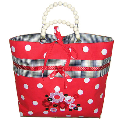 Marylou: sixties fifties retro stickereien borte rockabilly tiki dots karo