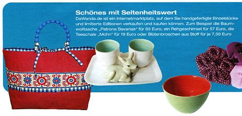 Handtasche Patrona Bavariae in der Dezember Living & More